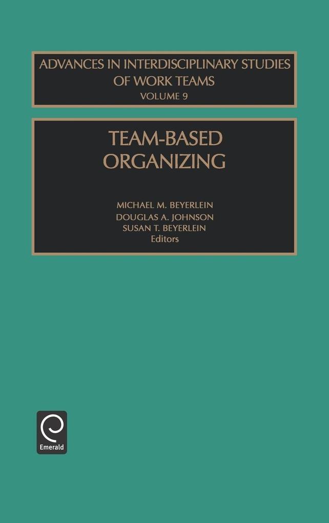 Team-Based Organizing Aisw9 H als Buch