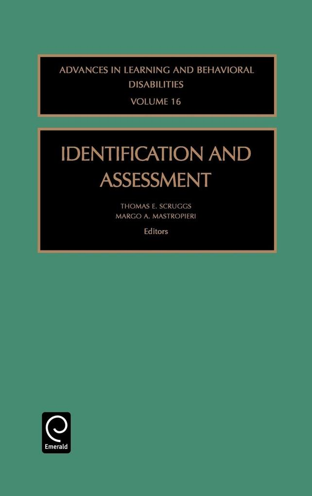Identification & Assessment Albd16h als Buch