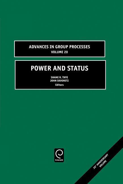 Power and Status als Buch