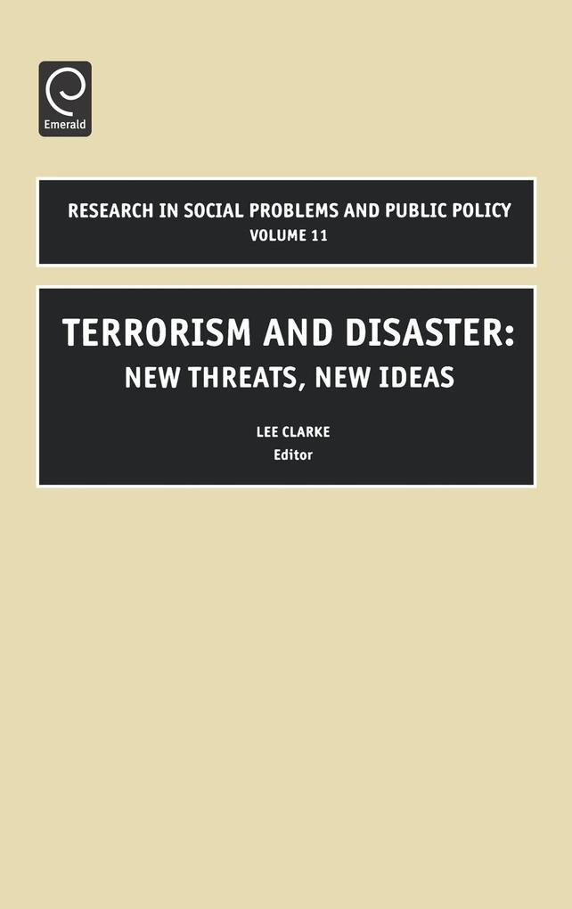 Terrorism and Disaster als Buch