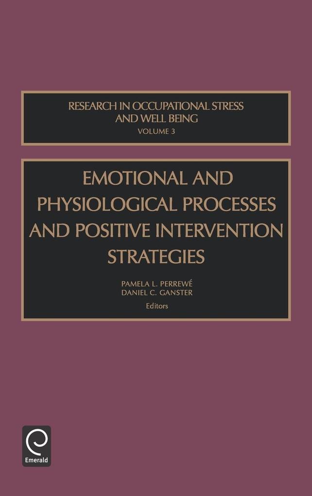 Emot Physiol Strat Roswb3h als Buch