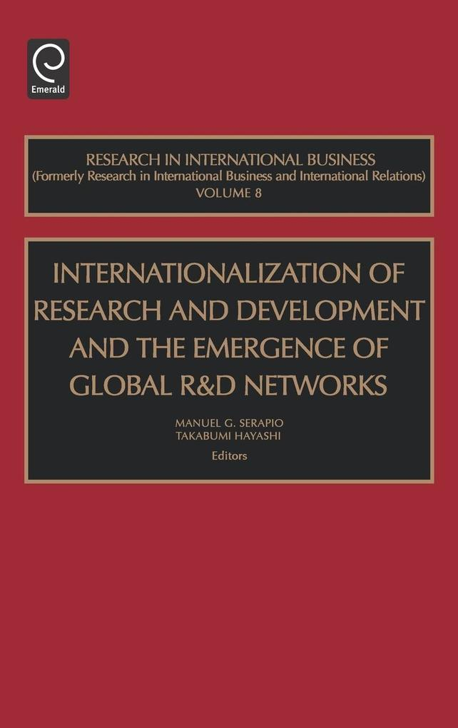 Int Res Dev Glob Emerg Net Ribi8h als Buch