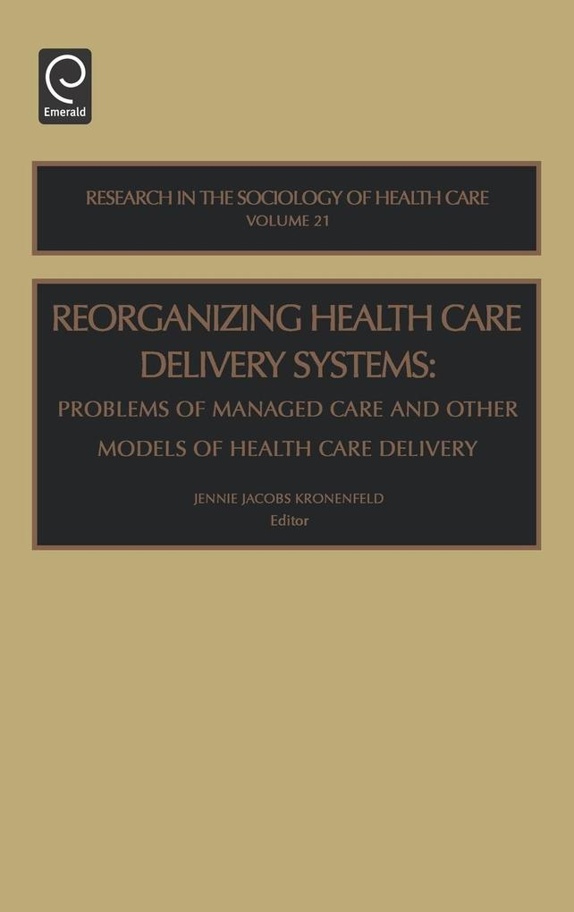 Reorg Health Care del Sys Rshc21h als Buch