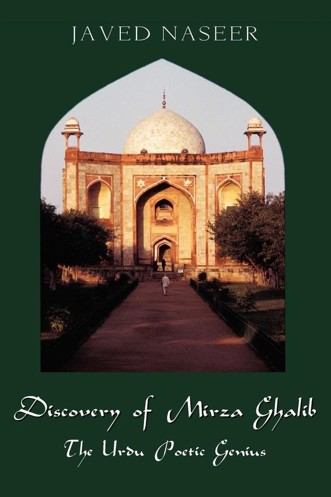 Discovery of Mirza Ghalib als Taschenbuch