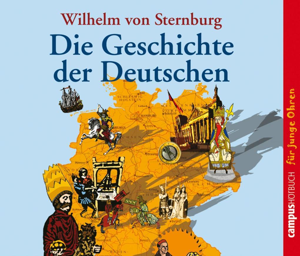 Die Geschichte der Deutschen als Hörbuch Download