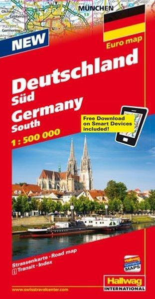 Deutschland Süd 1 : 500 000 als Buch