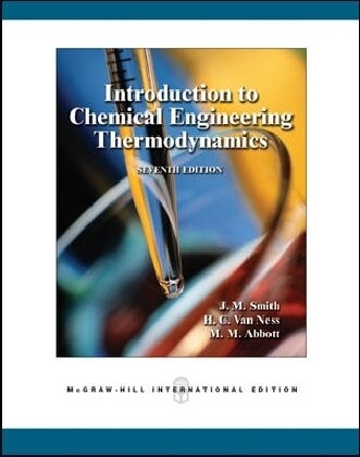 Introduction to Chemical Engineering Thermodynamics als Buch