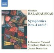Sinfonien 4+5 als CD