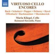Virtuose Cellozugaben als CD