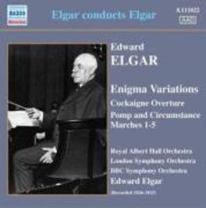 Elgar Dirigiert Elgar als CD