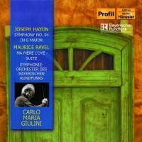 Sinfonie 94/Ma Mere L'Oye als CD