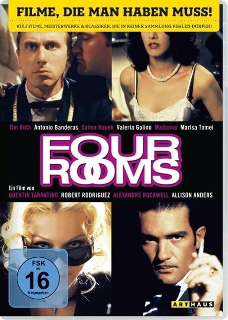 Four Rooms als DVD