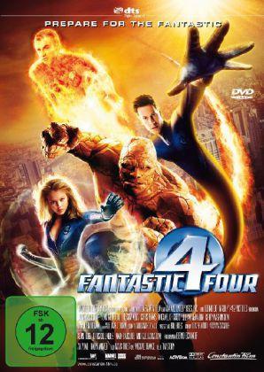 Fantastic Four als DVD