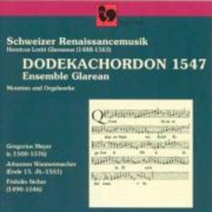 Dodechachordon 1547 als CD