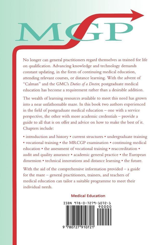 Guide Postgraduate Medical Education als Taschenbuch