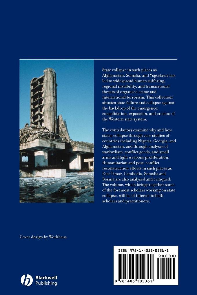 State Failure Collapse Reconstruction als Buch