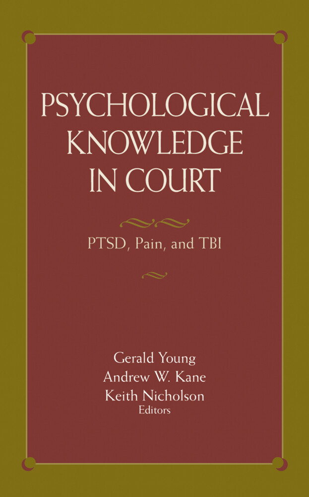 Psychological Knowledge in Court als Buch