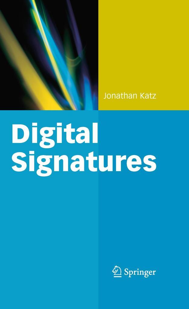 Digital Signatures als Buch