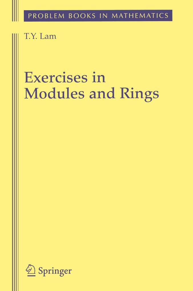 Exercises in Modules and Rings als Buch