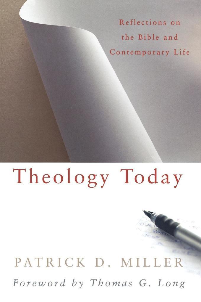Theology Today als Taschenbuch