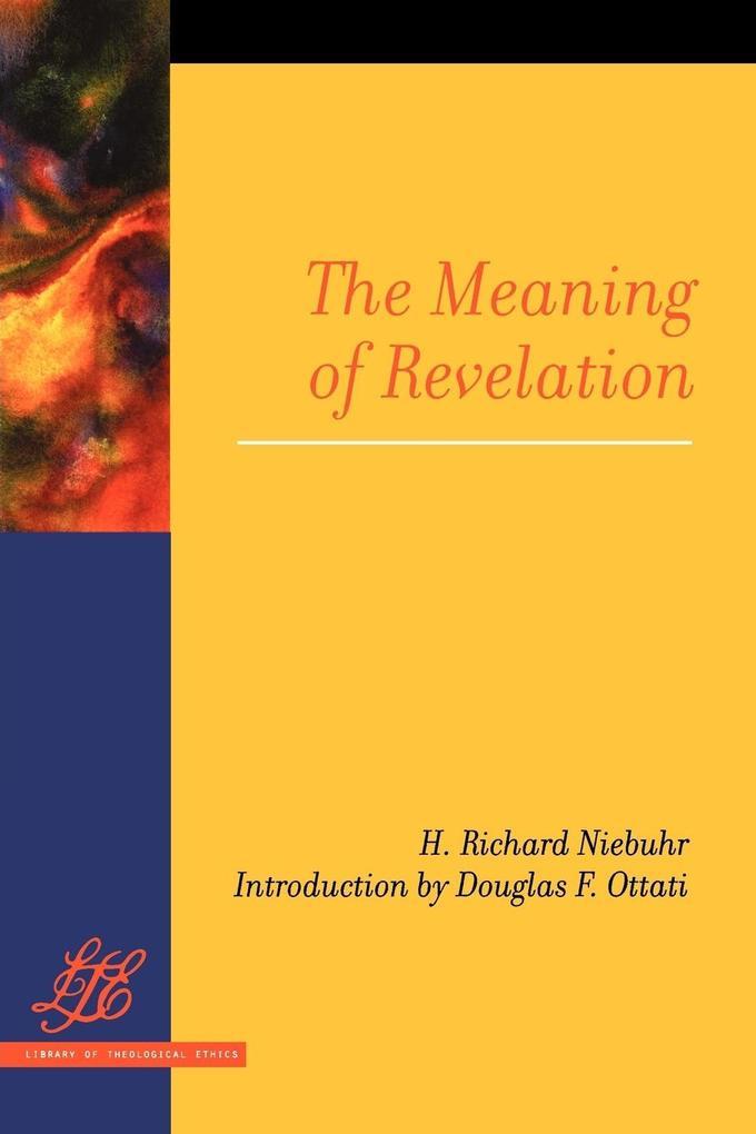 Meaning of Revelation als Taschenbuch