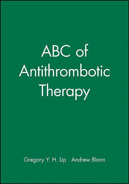 ABC of Antithrombotic Therapy als Taschenbuch