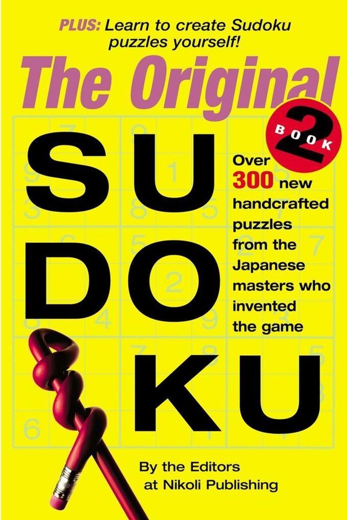The Original Sudoku Book 2 als Taschenbuch