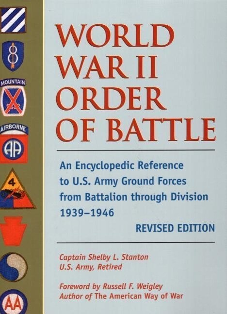 World War II Order of Battle: U.S. Army (Ground Force Units) als Buch
