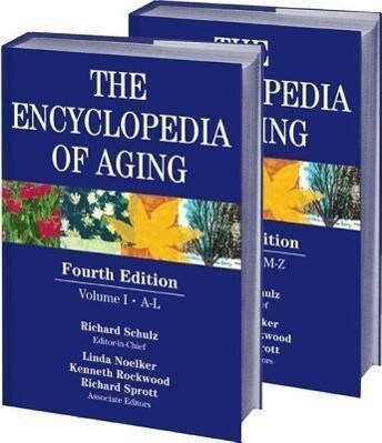 The Encyclopedia of Aging: Fourth Edition, 2-Volume Set als Buch