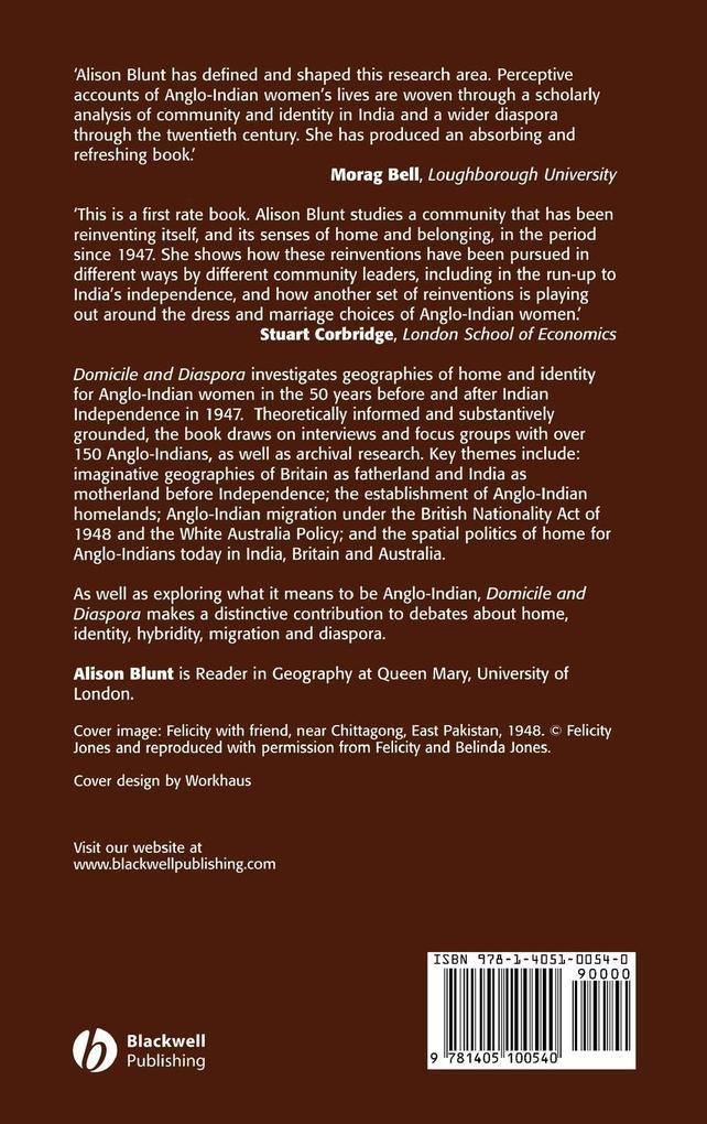Domicile and Diaspora C als Buch