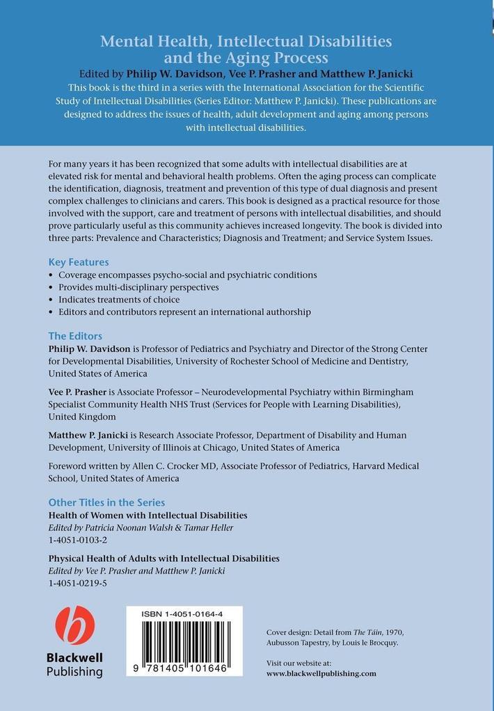 Mental Health Inteccectual Disabilities als Taschenbuch
