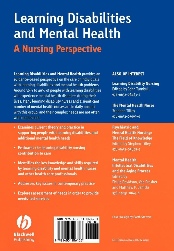 Learning Disabilities and Mental Health als Taschenbuch