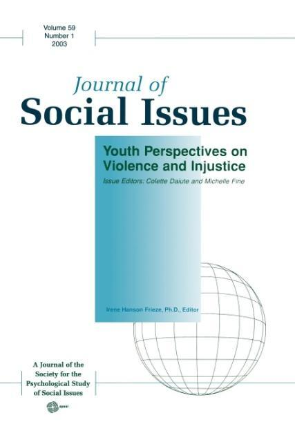 Youth Perspectives on Violence and Injustice als Taschenbuch