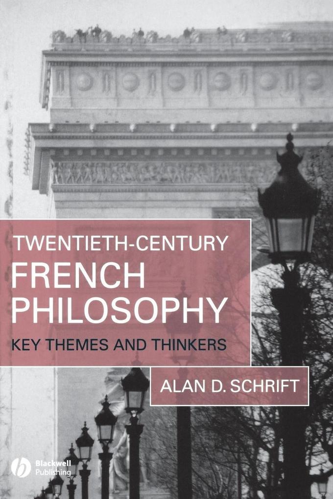 20C French Philosophy als Taschenbuch
