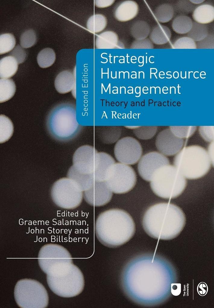 Strategic Human Resource Management als Buch