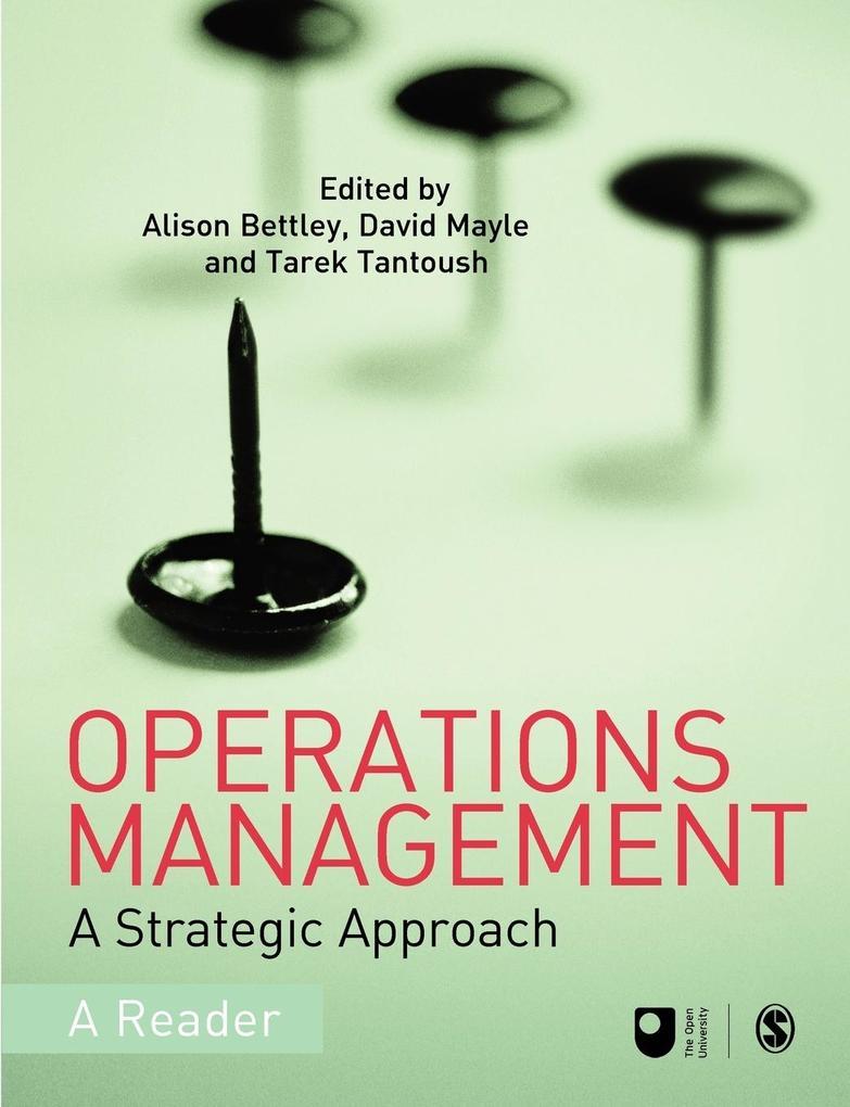 Operations Management als Taschenbuch