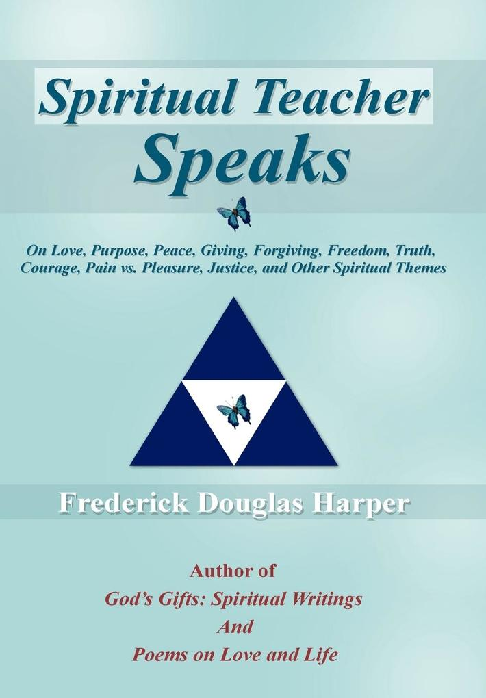 Spiritual Teacher Speaks als Buch