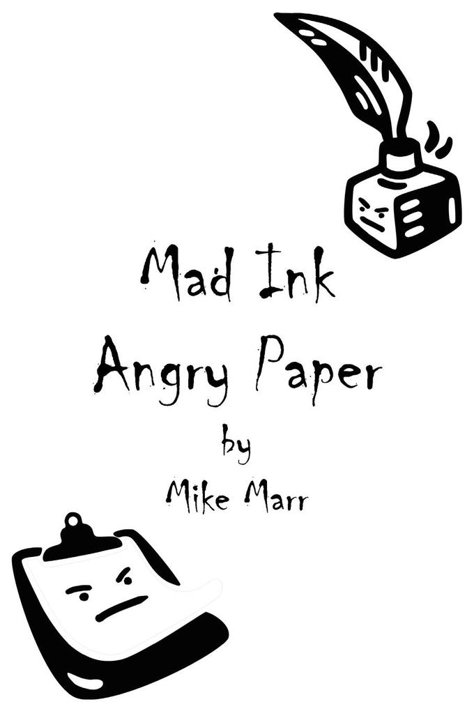 Mad Ink Angry Paper als Taschenbuch