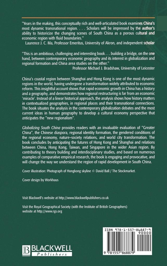 Globalizing South China als Buch