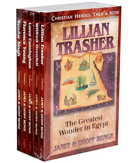 Christian Heroes Gift Set (21-25): Christian Heroes: Then & Now als Taschenbuch