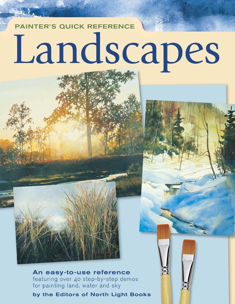 Painter's Quick Reference - Landscapes als Taschenbuch