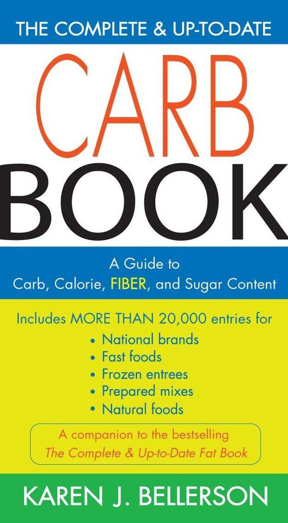 The Complete and Up to Date Carb Book als Taschenbuch