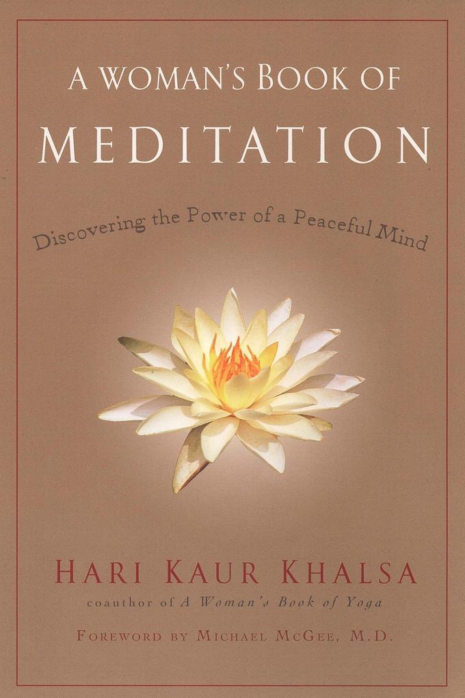 A Woman's Book of Meditation als Taschenbuch