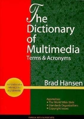 Dictionary of Multimedia als Taschenbuch