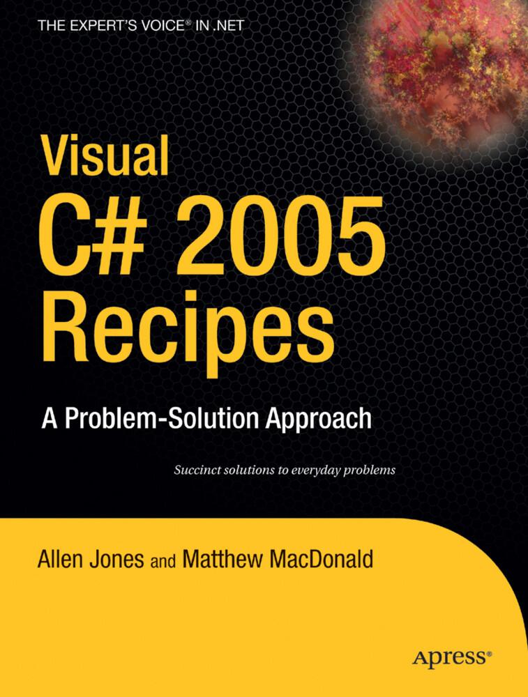 Visual C# 2005 Recipes als Buch