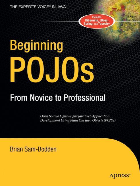Beginning POJOs als Buch von Brian Sam-Bodden