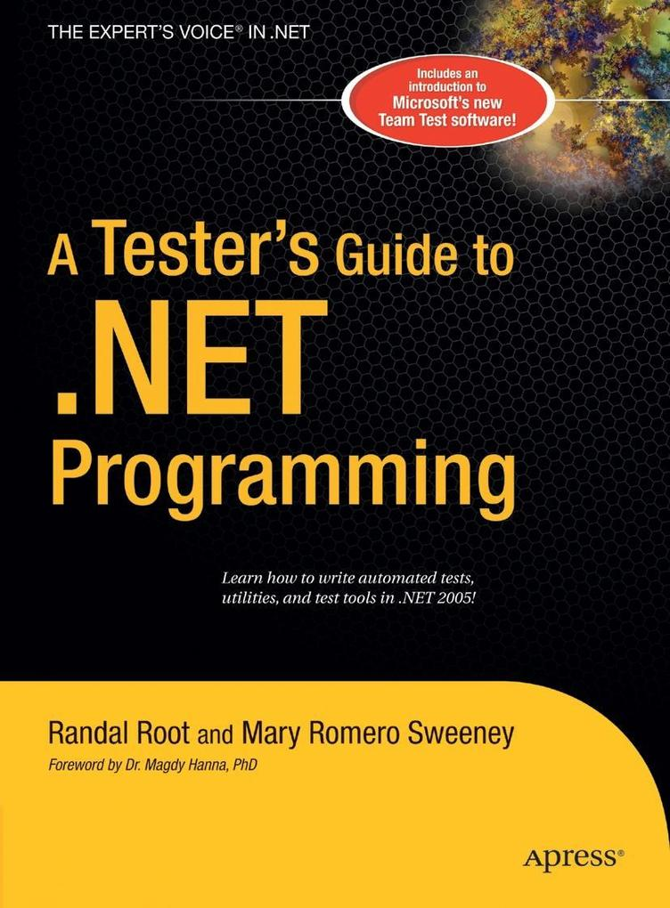 A Tester's Guide to .Net Programming als Buch