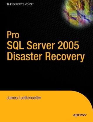 Pro SQL Server 2005 Disaster Recovery als Taschenbuch