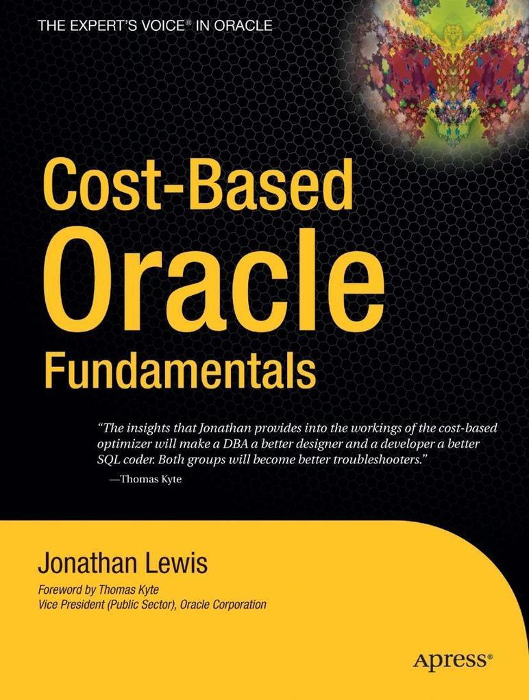Cost-Based Oracle Fundamentals als Taschenbuch