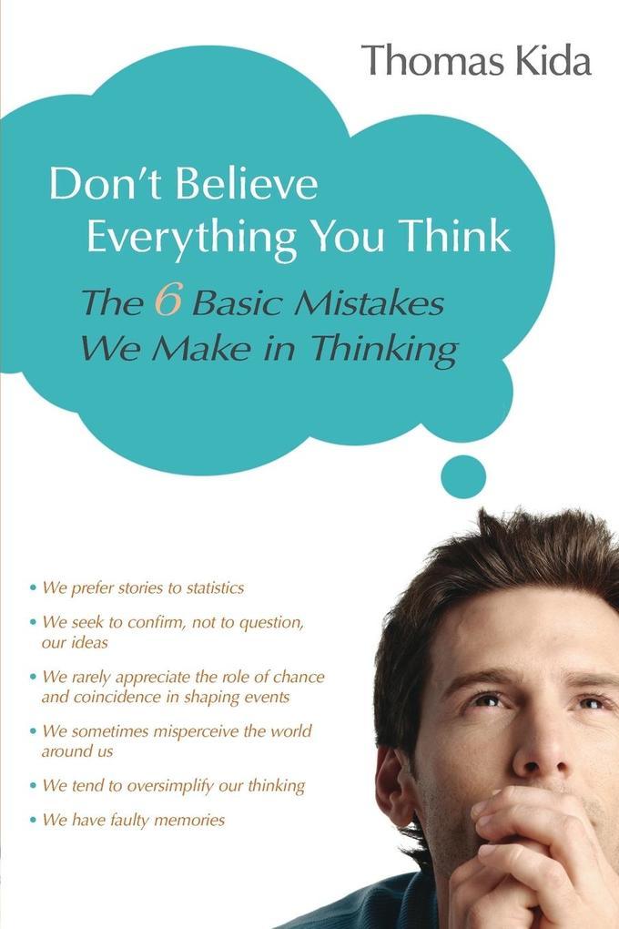 Don't Believe Everything You Think als Taschenbuch